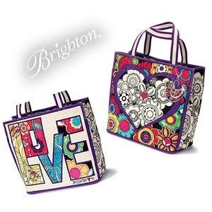 Brighton Love Groove Tote Bag